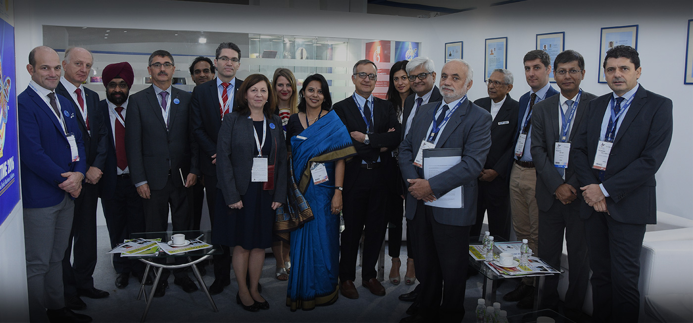INTERNATIONAL DELEGATION AT INDIA ITME